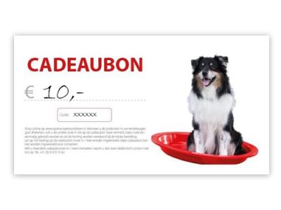 Cadeaubon - € 10